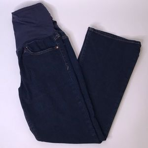 Gap Sexy Boot Dark Wash Full-Panel Maternity Jeans